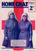 Elsie Knocker and Mairi Chisholm on the cover of Home Chat in 1918.