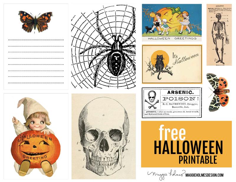 Free Halloween Printable Maggie Holmes