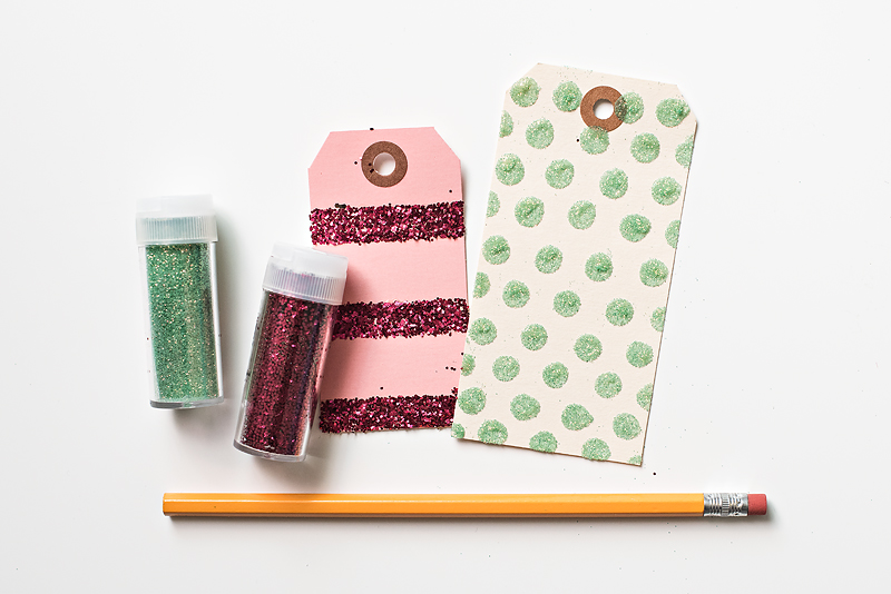 Maggie Holmes DIY Glitter Tags-2