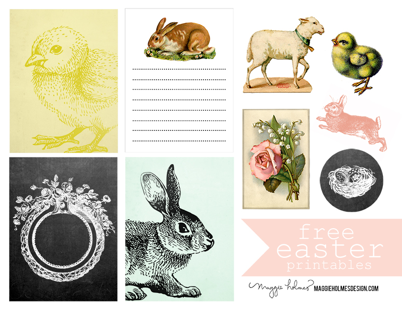 Free Easter Printable Maggie Holmes