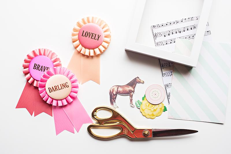 DIY Framed Prize Ribbons Maggie Holmes Blog-4
