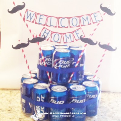 Beer Cake Welcome Home