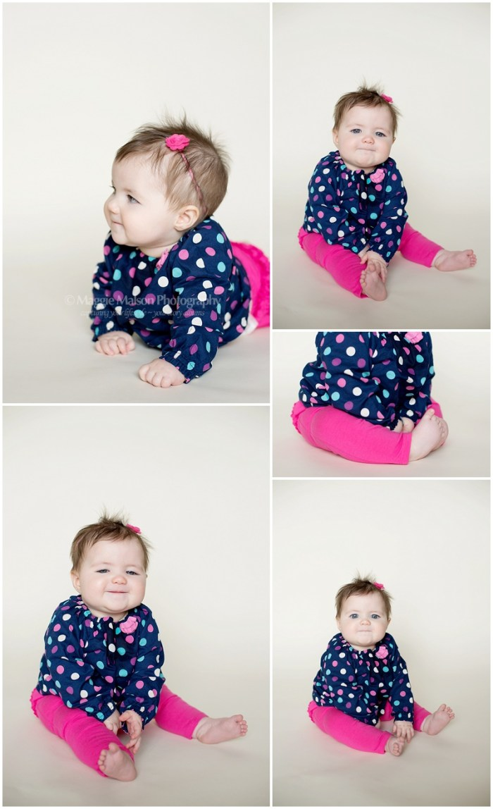 6 month girl photos