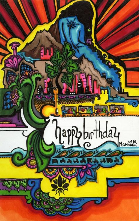 #49: Birthday Card