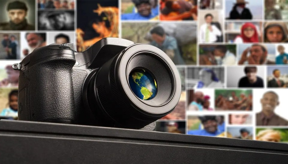 Picture of cameras used to create blog images