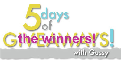 {Giveaway Day: the winners}