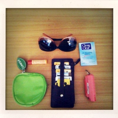 {things I carry daily}