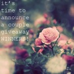 {and the winners are…}