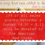 {saturday shopping // Red Cross Donation}