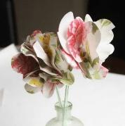 {paper + straw flower tutorial // guest post}