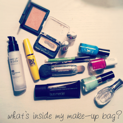 {what's inside my make-up bag?}