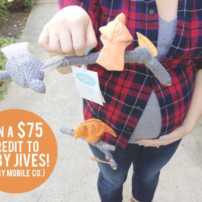 {Baby Jives // a super adorable giveaway.}