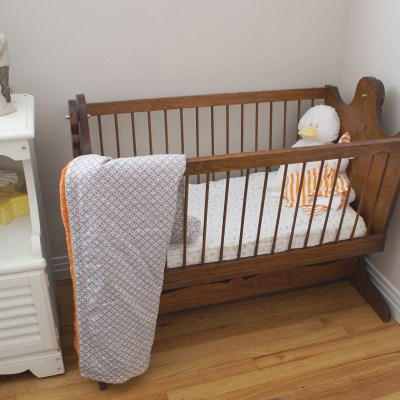 {A tour of Baby Whitley's nursery…}