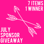 {July sponsor giveaway: $355 in prizes}