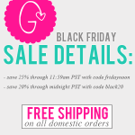 Black Friday sale details: 2 ways to save BIG!