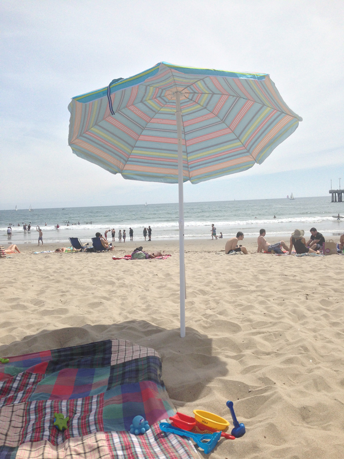 venice beach umbrella maggie whitley