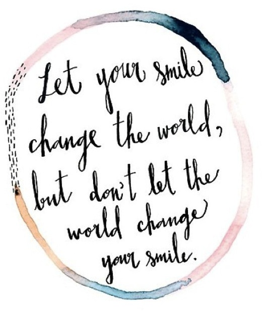 let your smile change the world maggie whitley