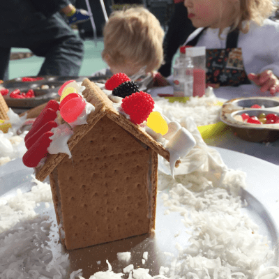 Gingerbread houses, palm trees, and your interests!