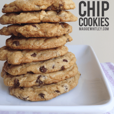 """""""the best"""" chocolate chip cookies 