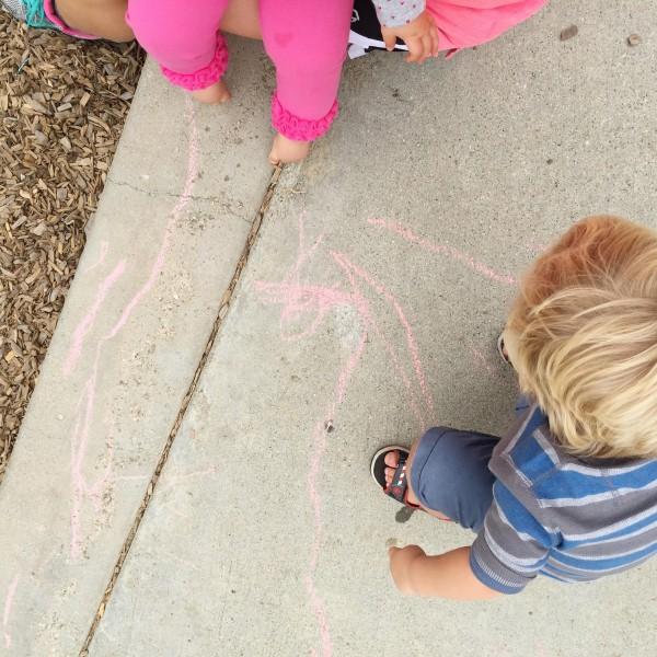 park chalk kids maggie whitley