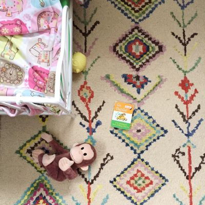 Decorating with rugs!