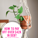 How we paid off over $42,000 in debt in just 2 years!