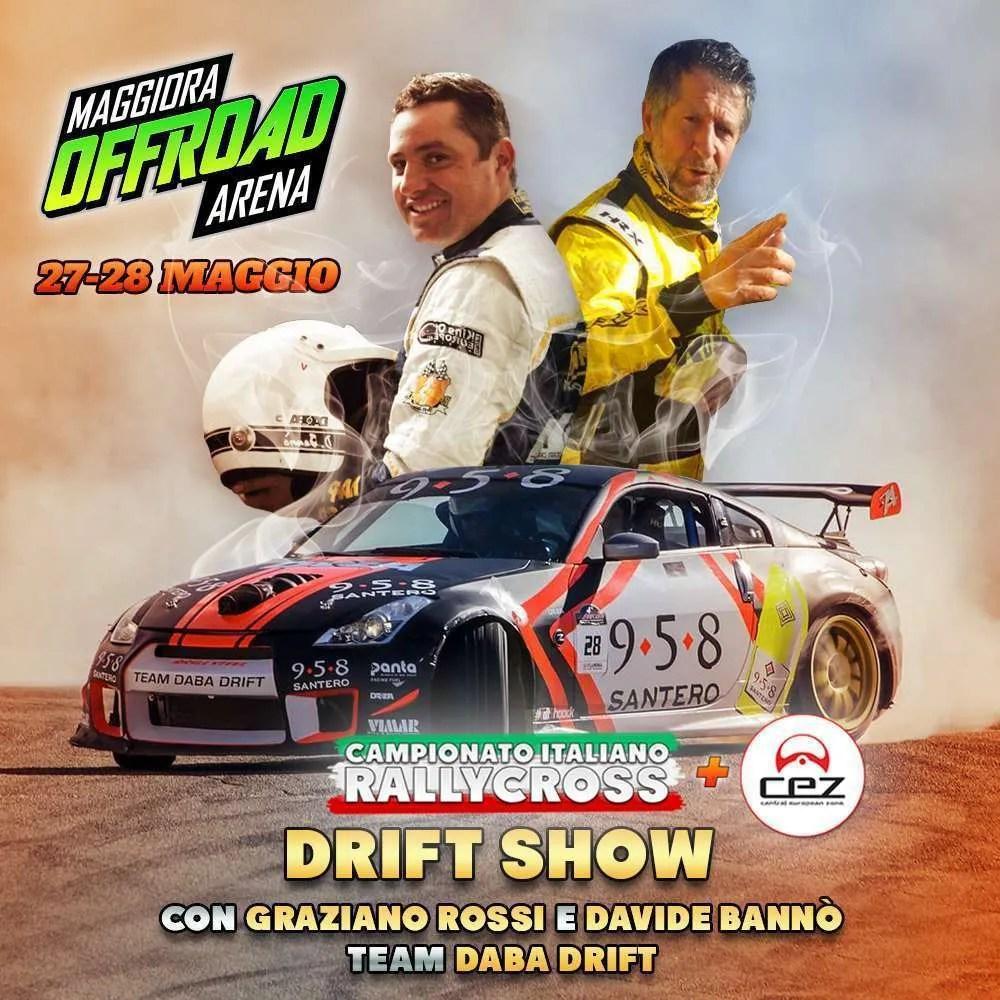 Non solo Rallycross: a Maggiora il 27/28 maggio anche il Drift Show!