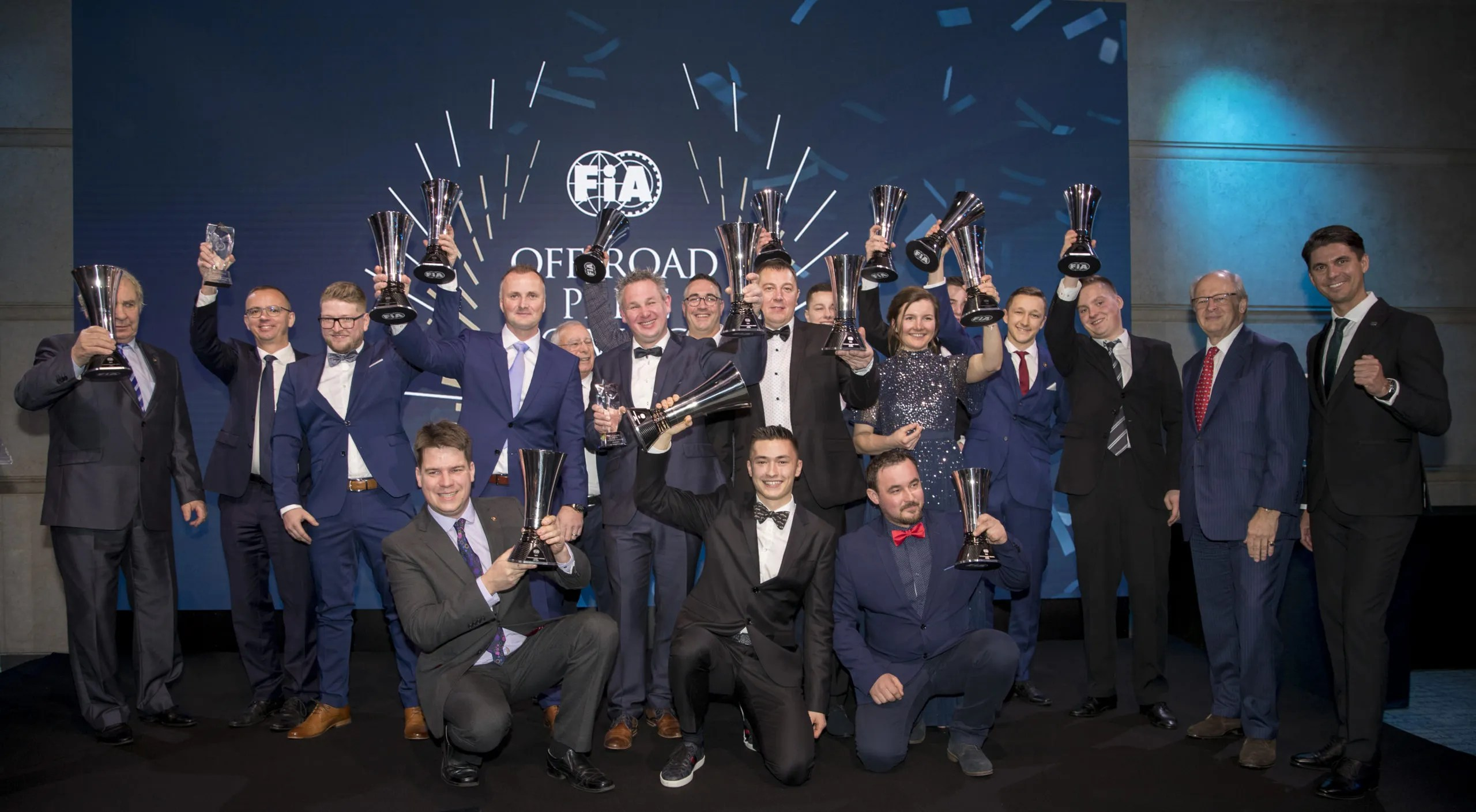 FIA Off-Road Championship Prize Giving ceremony