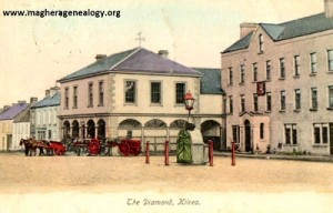 The Diamond & Mercer's Hotel, Kilrea 1905 400x256