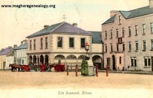 The Diamond & Mercer's Hotel, Kilrea 1905 400x256