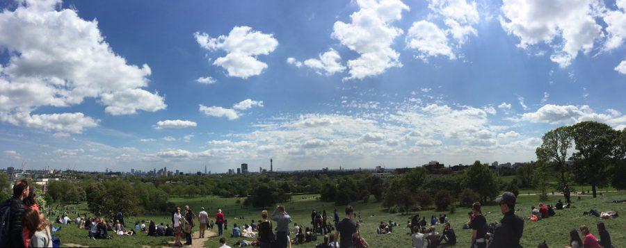 La vue depuis Primrose Hill.