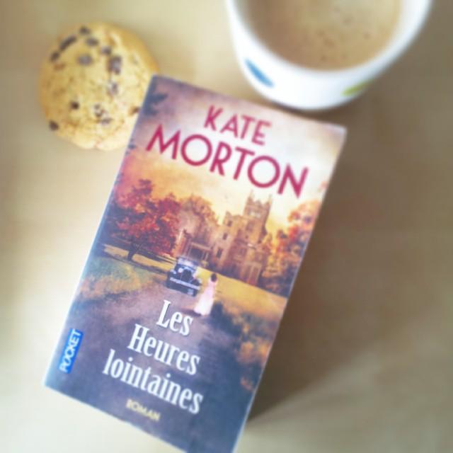 Couverture des Heures lointaines de Kate Morton