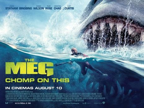 The Meg Official Trailer #1 (2018) Jason Statham, Ruby Rose Megalodon Shark Movie HD | Magic 103.7