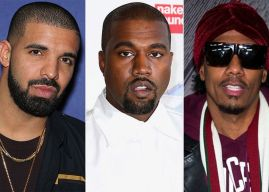 Kanye West Defends Kim Kardashian Against Drake, Nick Cannon
