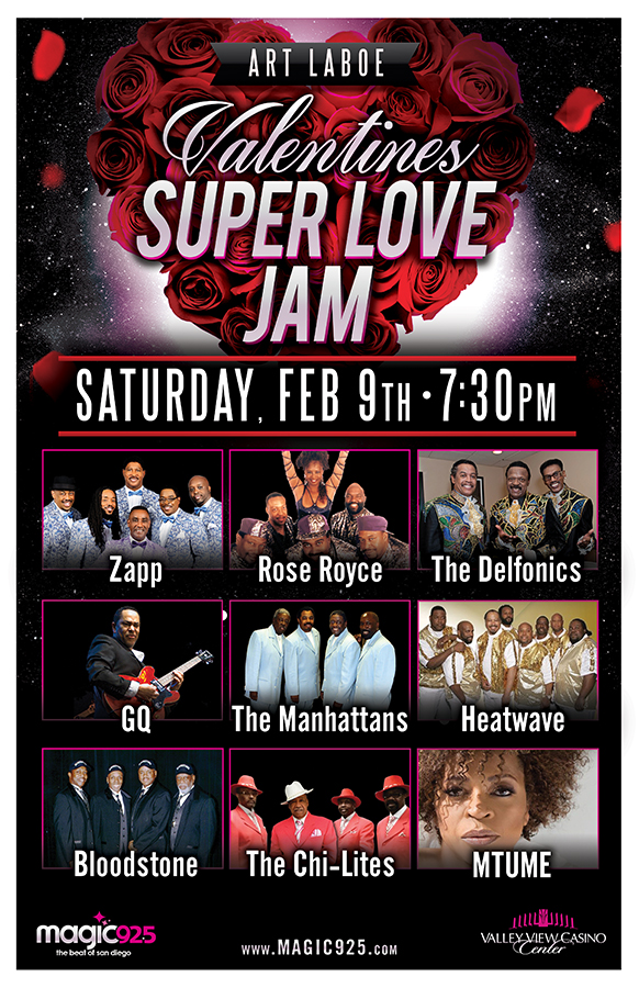 Win Front Row Tickets To Art Laboe Valentines Super Love