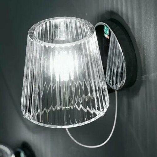 De Majo Illuminazione Lampada Da Parete Lumè A1 Cristallo