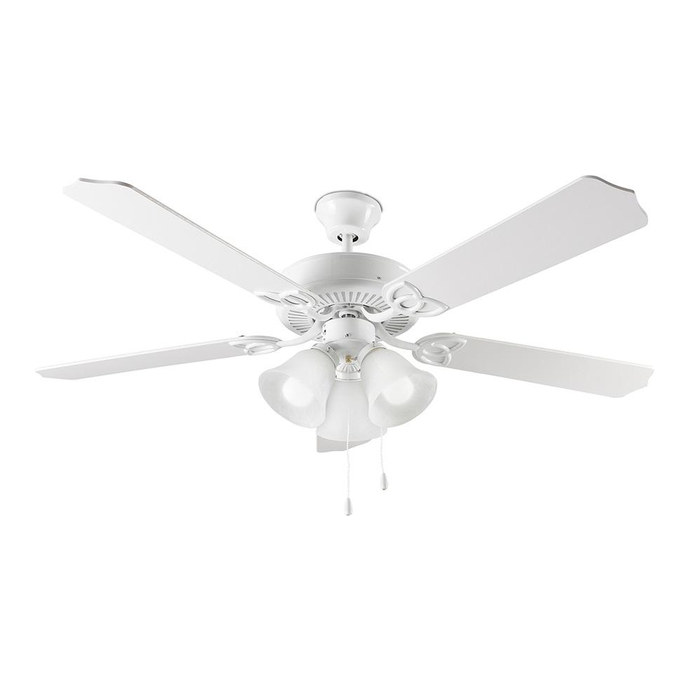 Ventilatore Flux Bianco Con Interruttore A Strappo