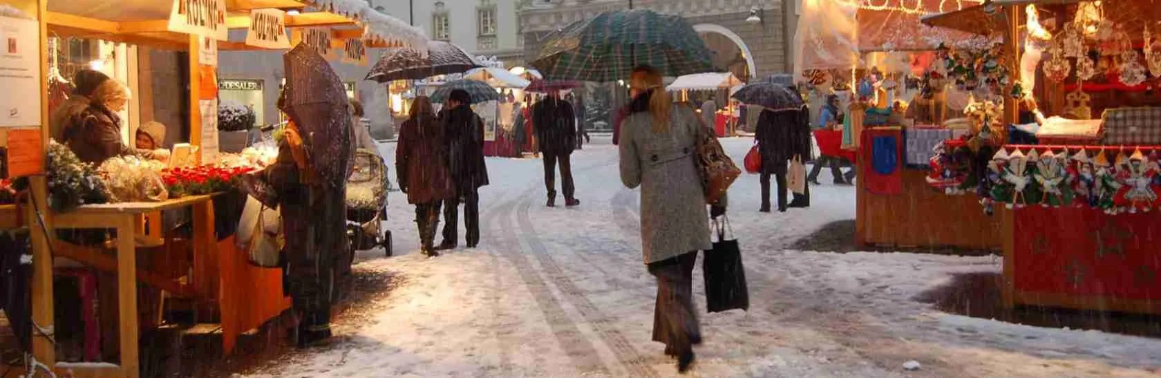 Una passeggiata con una escort Bolzano tra i Mercatini di Natale della città di Bolzano