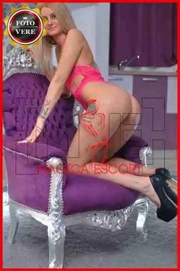 Alexandra escort Milano è una giovane accompagnatrice con un corpo perfetto. Magica Escort