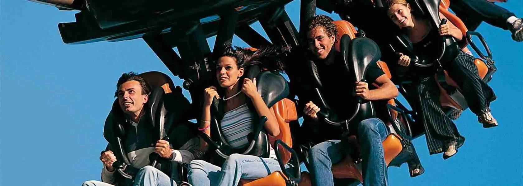 Le escort Verona amano le scariche di adrenalina indotte dal Blue Tornado che si trova a Gardaland, una delle attrazioni più folli presenti nel parco dei divertimenti di Verona.
