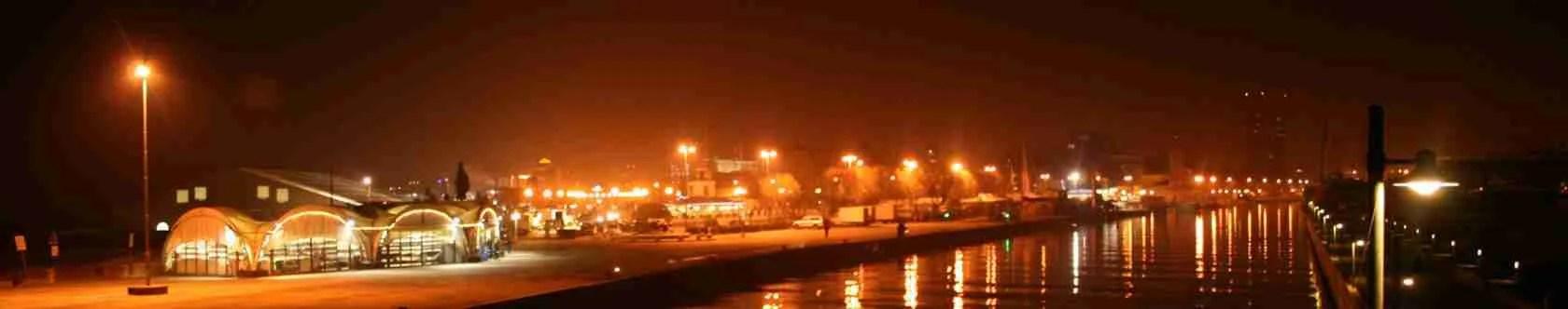 Passeggiata romantica sul molo di Rimini in compagnia di una top class escort a Rimini.