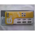 OAタップ 6個口 コンパクトで使いやすい HT06-844WH-2 ホワイト 2個セット