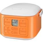 【オレンジ】 サンヨー 3合炊飯器 vita cube ECJ-XQ30 オレンジ