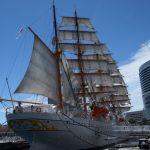 【写真日記】青空に帆を張れ!:帆船日本丸総帆展帆(そうはんてんぱん)【SONYα77とiPhone5sで撮影】