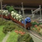 【取材】ザクとイニシャルDとキティとニャンコ先生 in 国際鉄道模型コンベンション2014