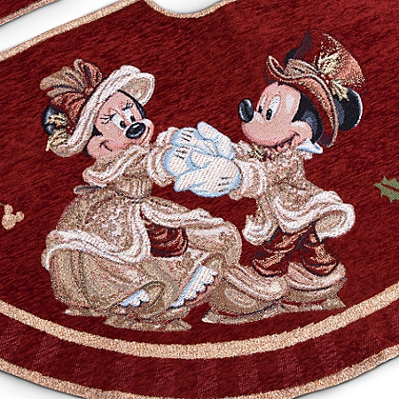 Disney Christmas Tree Skirt Mickey And Minnie Mouse