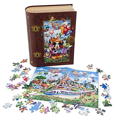 Disney Puzzle Storybook Walt Disney World Puzzle Set
