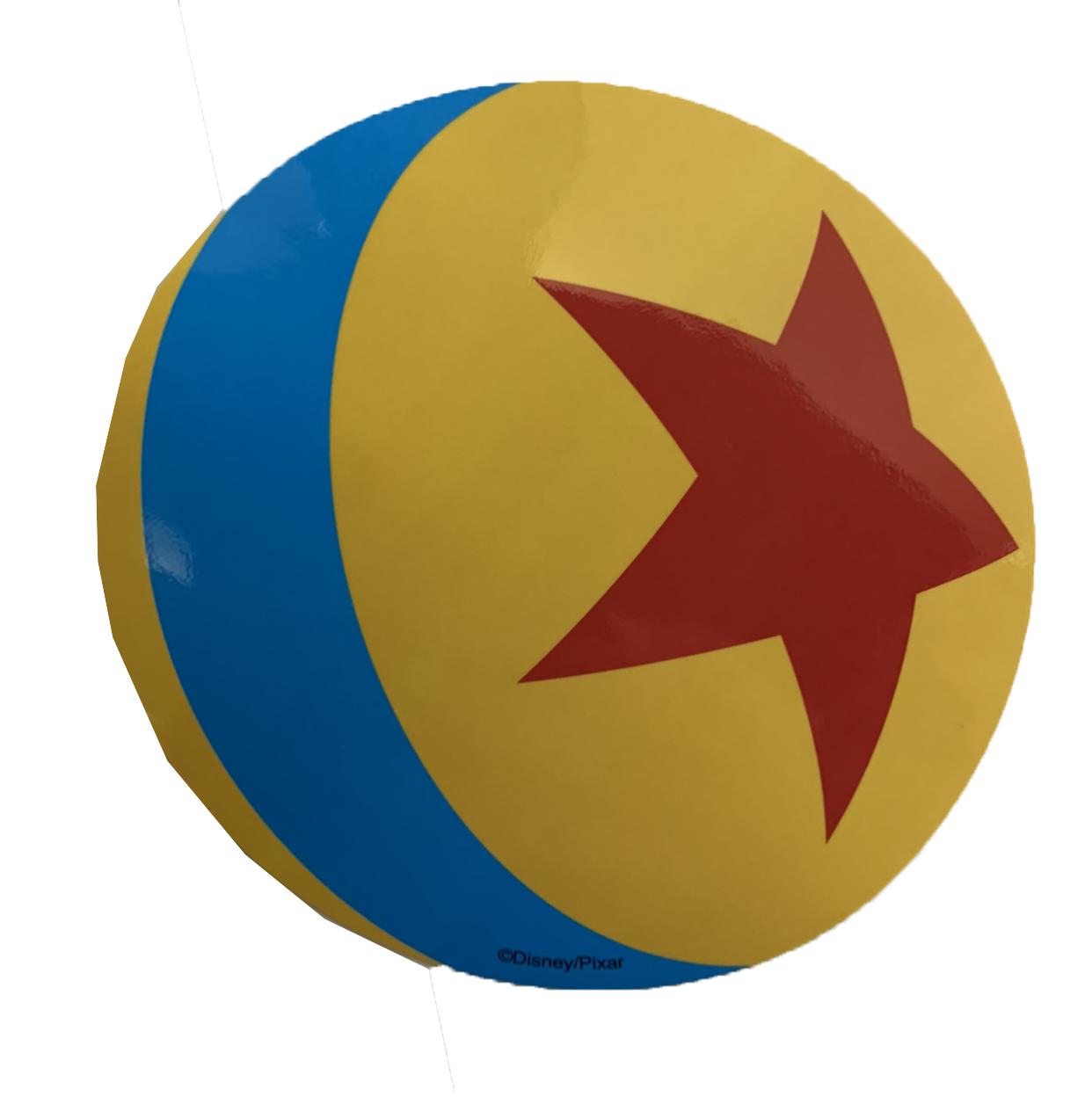 disney sticker pixar ball disney parks