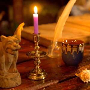 Learn more about purple chime candles
