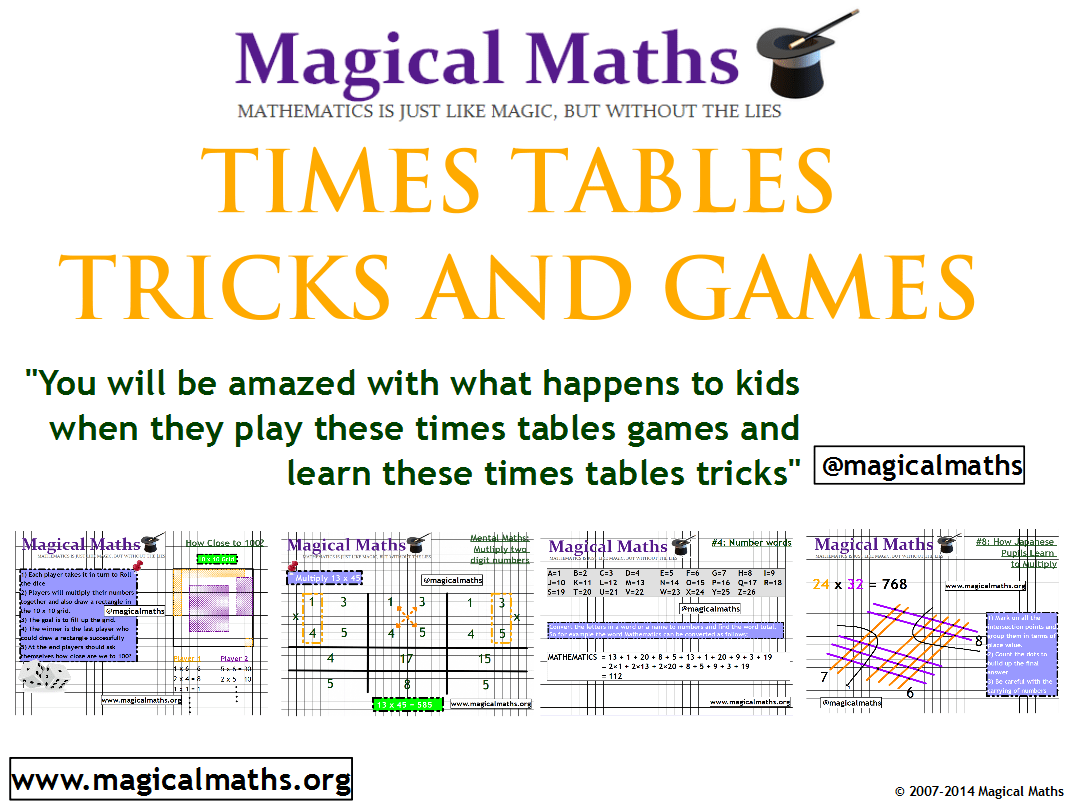Times Tables Games And Tricks